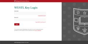 WUSTL Key Login Example