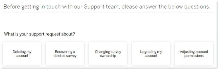 Qualtrics chat support screenshot 4