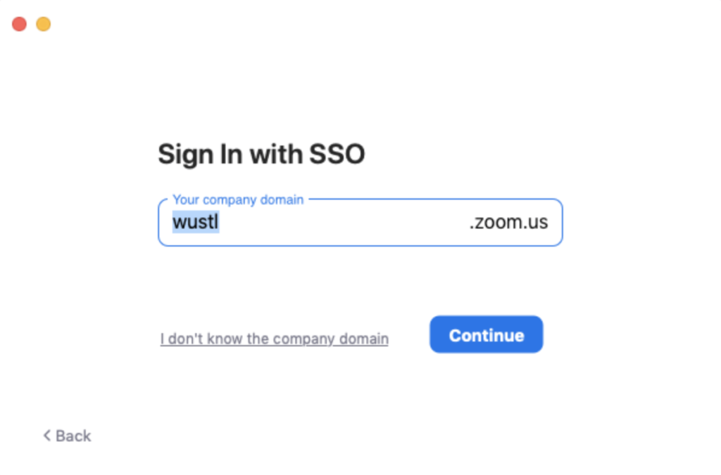 Zoom SSO Screenshot 2